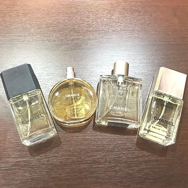 モノカウ緑橋店にて大阪のお客様からシャネルの香水セットを買取_04