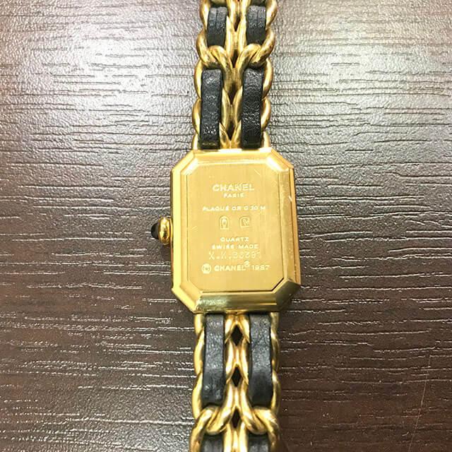 大阪のお客様からシャネルの腕時計【プルミエール】を買取_03