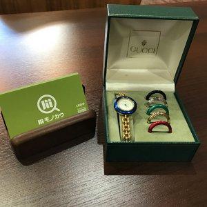 モノカウ心斎橋店にてグッチの腕時計【チェンジベゼル】を買取