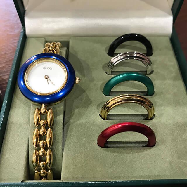 モノカウ心斎橋店にてグッチの腕時計【チェンジベゼル】を買取_02