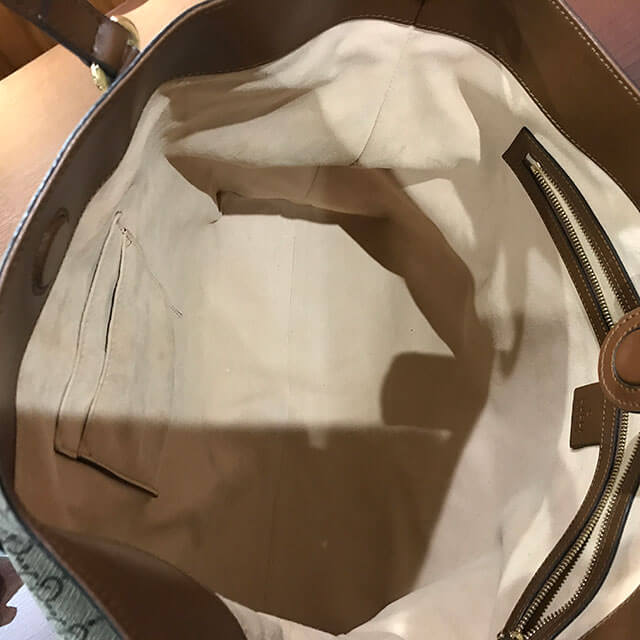 モノカウ緑橋店にてグッチの【GGスプリーム】2wayバッグを買取_03