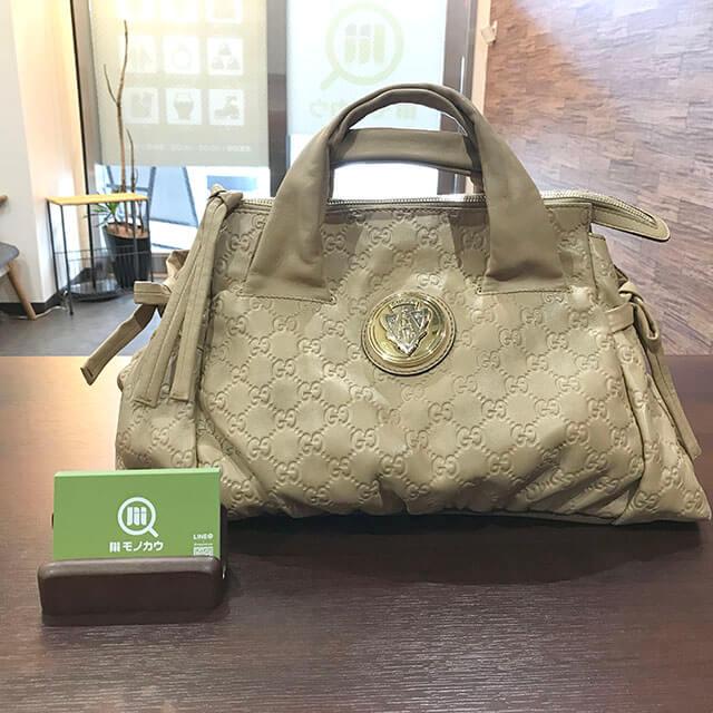 枚方のお客様からグッチの【ヒステリア】ハンドバッグを買取_01