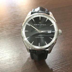 天王寺のお客様からハミルトンの腕時計【ジャズマスター】を買取