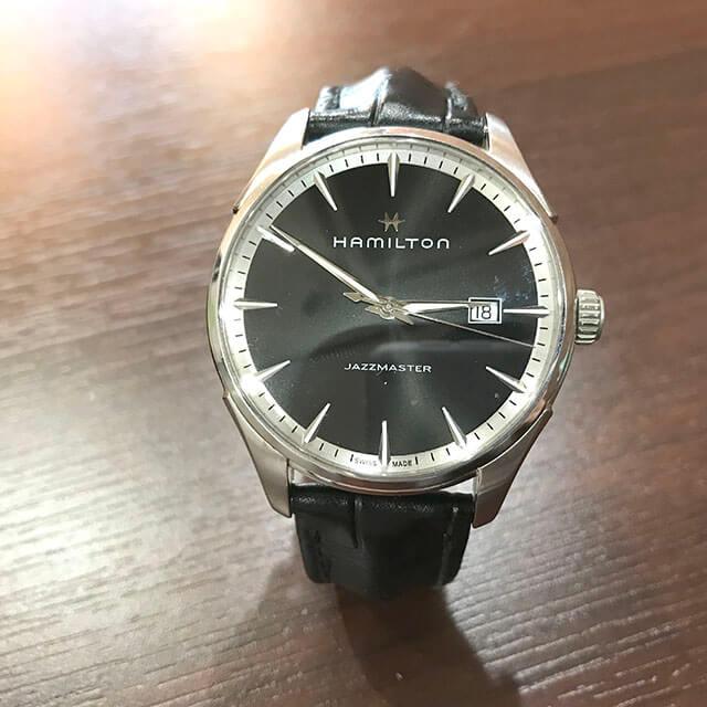 天王寺のお客様からハミルトンの腕時計【ジャズマスター】を買取_02