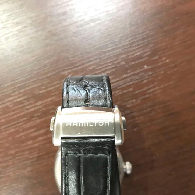 天王寺のお客様からハミルトンの腕時計【ジャズマスター】を買取_04
