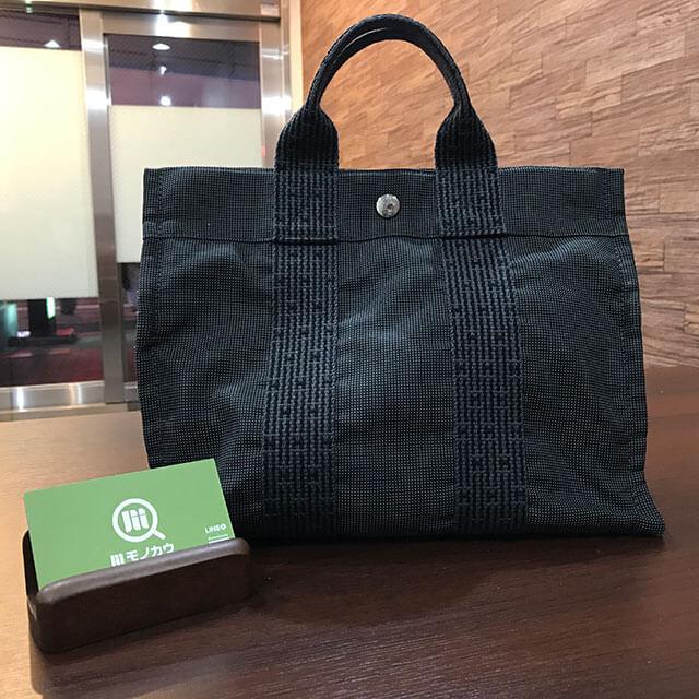 大阪のお客様からエルメスの【エールラインPM】トートバッグを買取_01