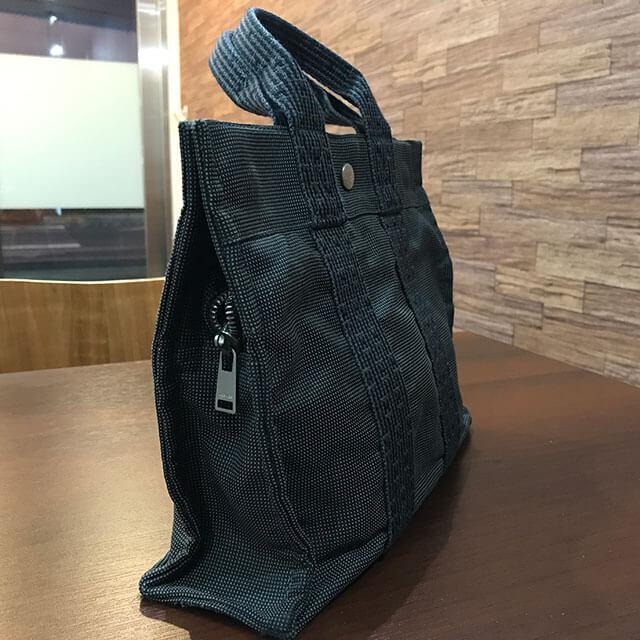 大阪のお客様からエルメスの【エールラインPM】トートバッグを買取_02
