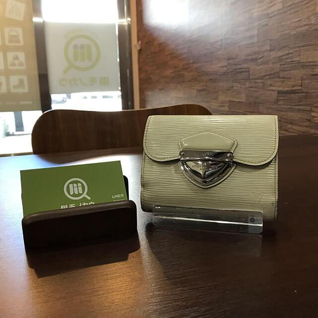 上大岡のお客様からヴィトンの財布【ポルトフォイユ・ジョイ】を買取_01