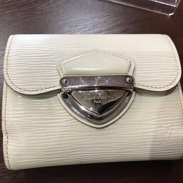 上大岡のお客様からヴィトンの財布【ポルトフォイユ・ジョイ】を買取_02