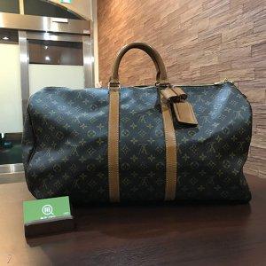 守口のお客様からヴィトンのボストンバッグ【キーポル55】を買取(モノカウ心斎橋店)