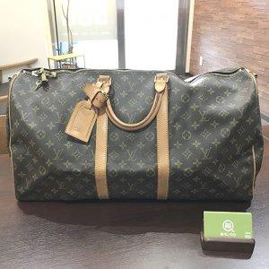 大阪のお客様からヴィトンのボストンバッグ【キーポル・バンドエール55】を買取