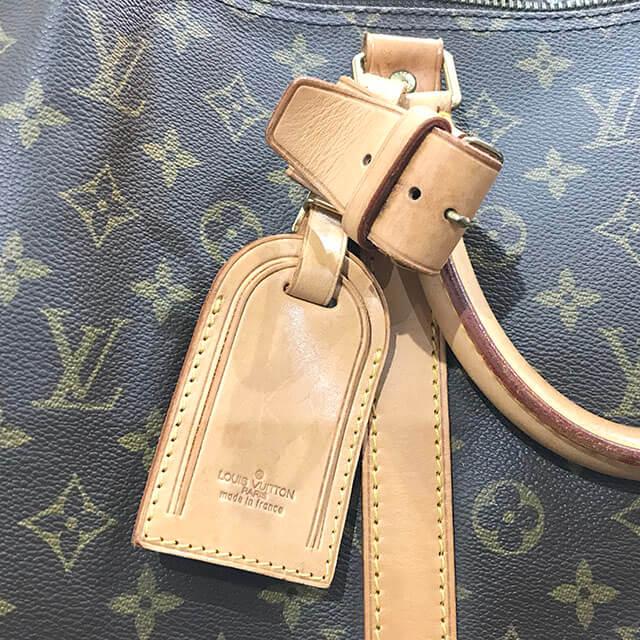 大阪のお客様からヴィトンのボストンバッグ【キーポル・バンドエール55】を買取_04