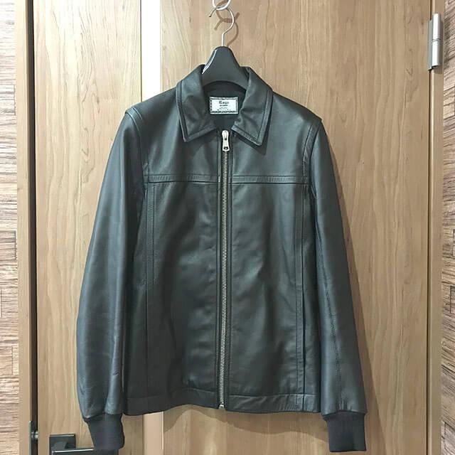 天王寺のお客様からラグスマックレガーのレザージャケットを買取_01
