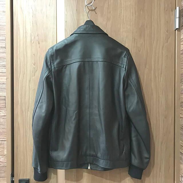 天王寺のお客様からラグスマックレガーのレザージャケットを買取_02