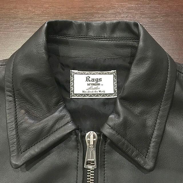 天王寺のお客様からラグスマックレガーのレザージャケットを買取_03