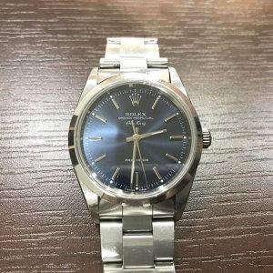 上野のお客様からロレックスの腕時計【エアキング】を買取