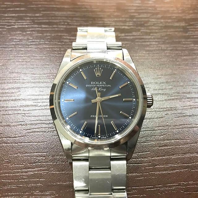 上野のお客様からロレックスの腕時計【エアキング】を買取_02