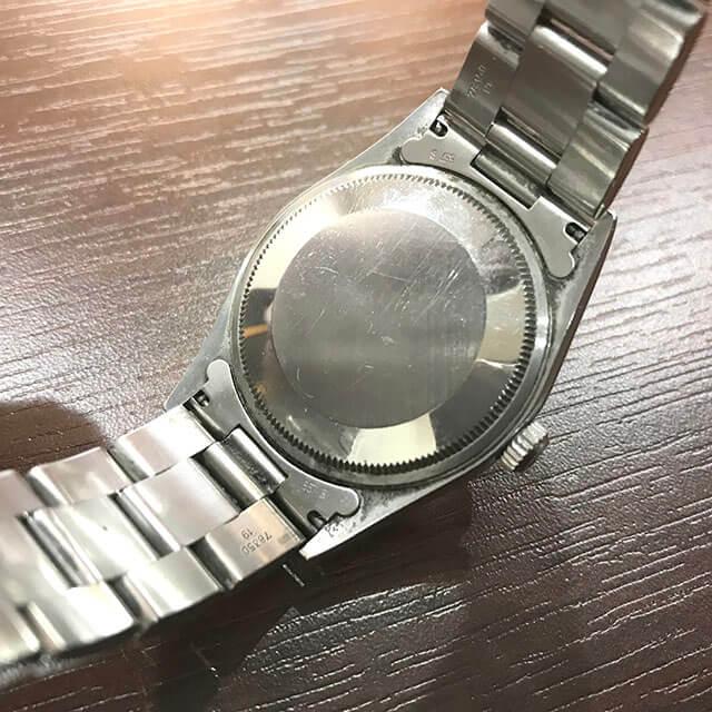 上野のお客様からロレックスの腕時計【エアキング】を買取_03