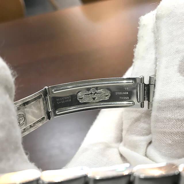 上野のお客様からロレックスの腕時計【エアキング】を買取_04