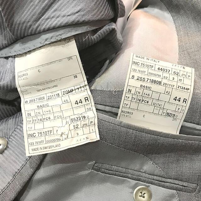 天王寺のお客様からトムフォードの【オコナー スーツ】を買取_04