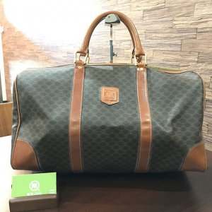 都島のお客様からセリーヌの【マカダム柄】ボストンバッグを買取