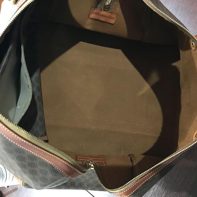 都島のお客様からセリーヌの【マカダム柄】ボストンバッグを買取_03
