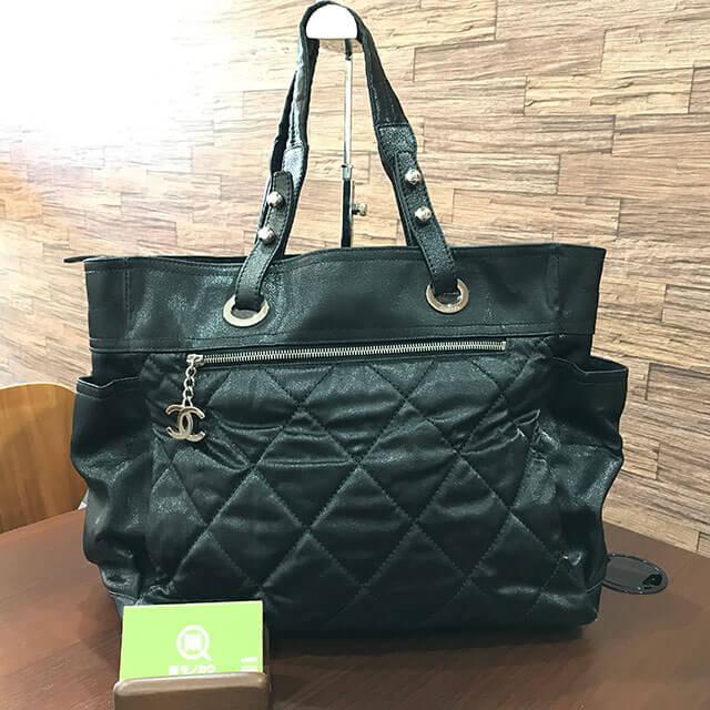 都島のお客様からシャネルのバッグ【パリビアリッツGM】を買取_01