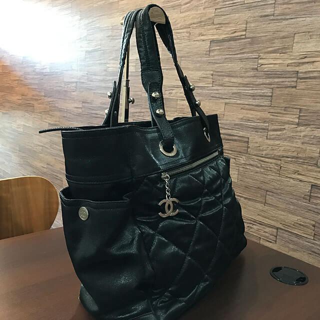 都島のお客様からシャネルのバッグ【パリビアリッツGM】を買取_02