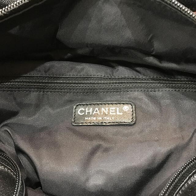 都島のお客様からシャネルのバッグ【パリビアリッツGM】を買取_04