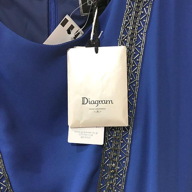 天王寺のお客様からグレースコンチネンタル【DIAGRAM】ワンピースを買取_04
