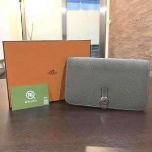 谷町四丁目のお客様からエルメスの財布【ドゴンGM】を買取