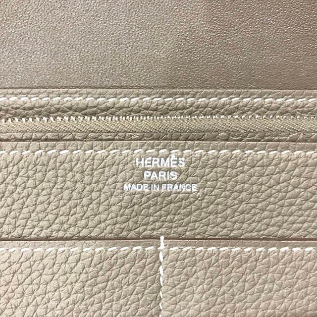 谷町四丁目のお客様からエルメスの財布【ドゴンGM】を買取_03