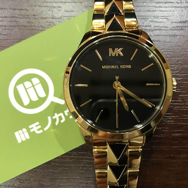 枚方のお客様からマイケルコースの腕時計【RUNWAY(ランウェイ) 】を買取_01
