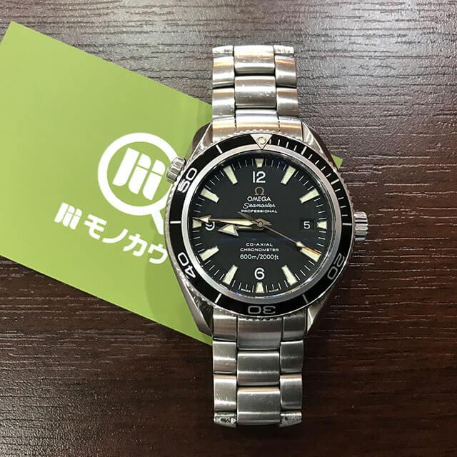 寝屋川のお客様からオメガの腕時計【シーマスター プラネットオーシャン】を買取_01