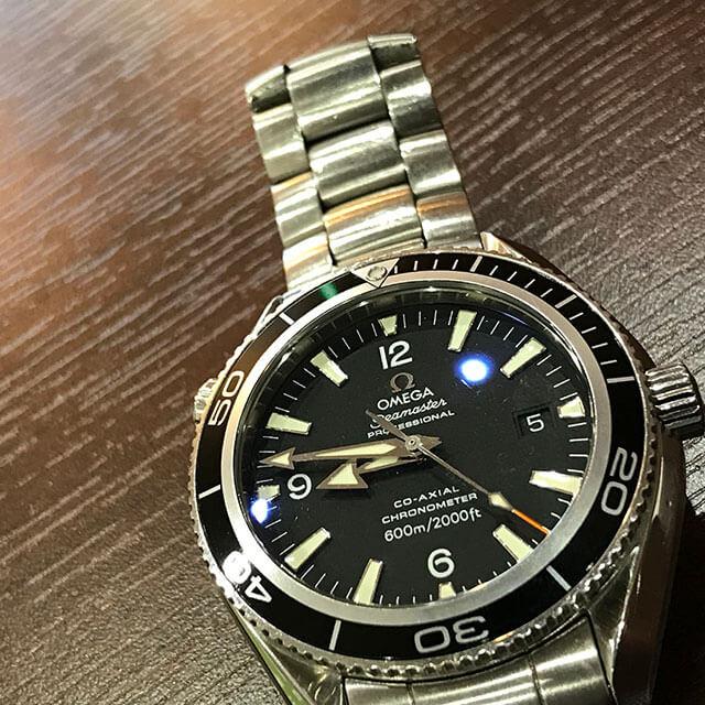 寝屋川のお客様からオメガの腕時計【シーマスター プラネットオーシャン】を買取_02