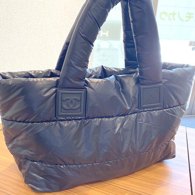 東大阪のお客様からシャネルの【コココクーン】トートバッグを買取_02
