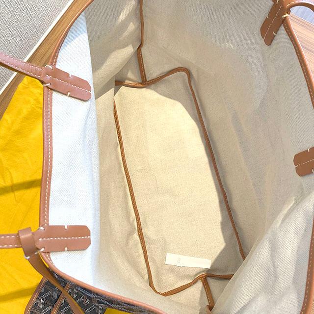 モノカウ緑橋店にてゴヤールの定番人気バッグ【サンルイ PM】を買取_04