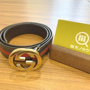 東大阪のお客様からグッチの【シェリーライン】のベルトを買取
