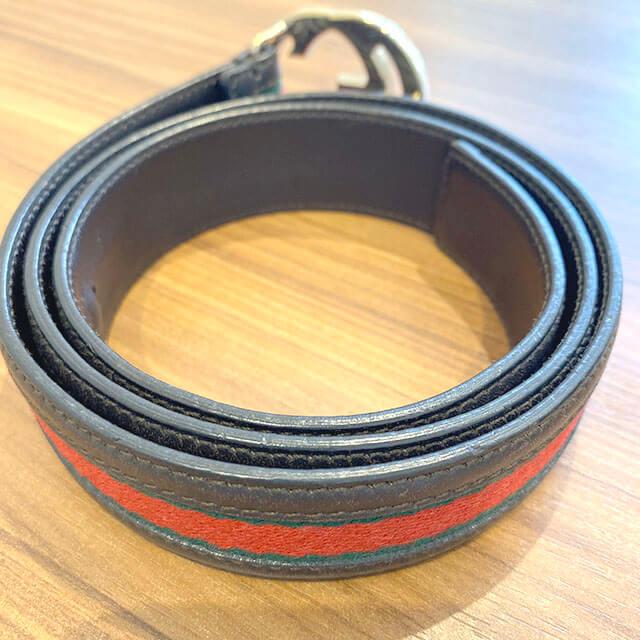 東大阪のお客様からグッチの【シェリーライン】のベルトを買取_03