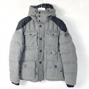 平野のお客様からモンクレールのダウンジャケット【HUGO(ヒューゴ)】を買取