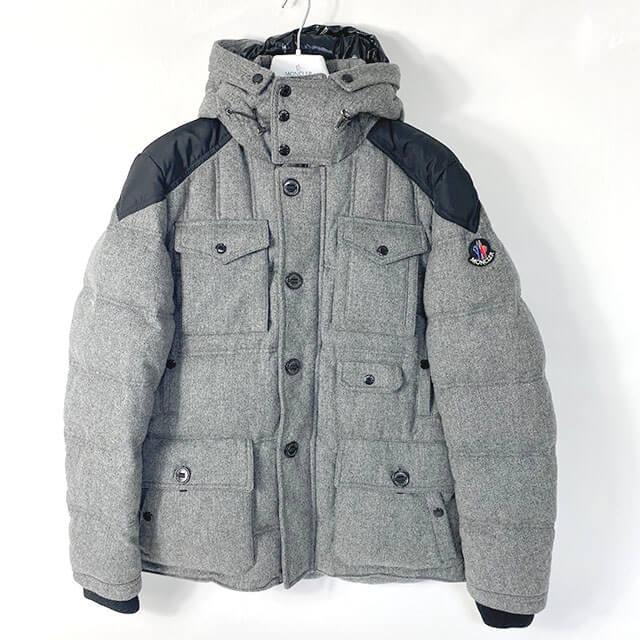 平野のお客様からモンクレールのダウンジャケット【HUGO(ヒューゴ)】を買取_01