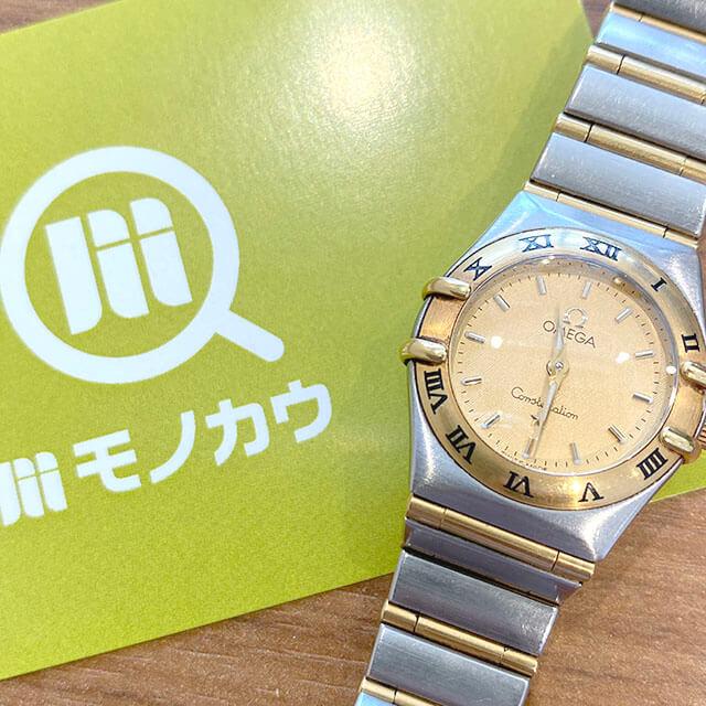 東大阪のお客様からオメガの腕時計【コンステレーション】を買取_01
