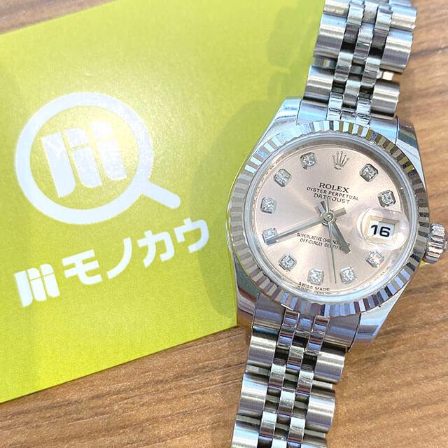 東大阪のお客様からロレックスの腕時計【デイトジャスト】を買取_01