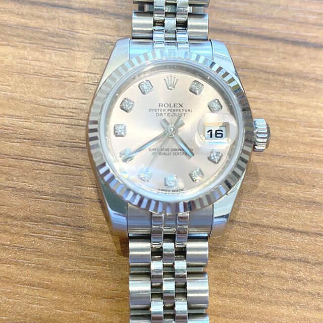 東大阪のお客様からロレックスの腕時計【デイトジャスト】を買取_02