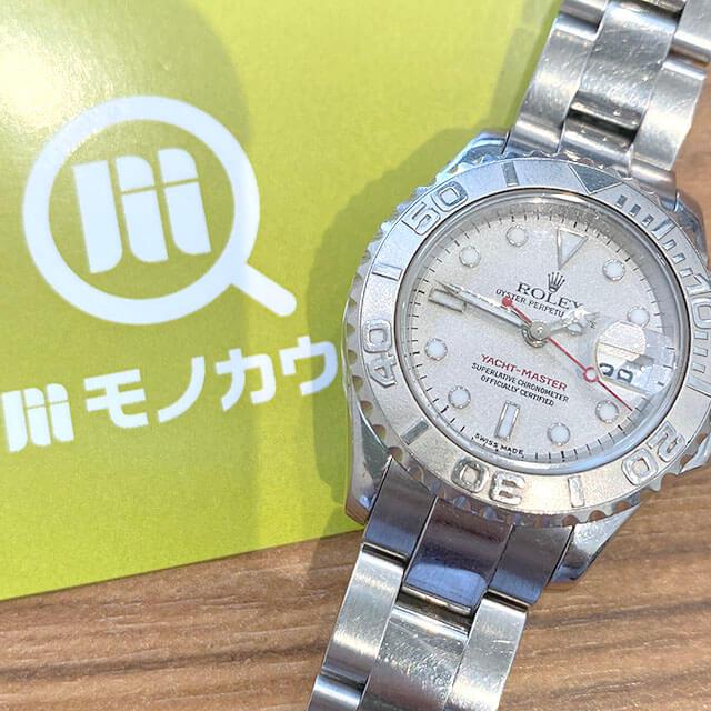 東大阪のお客様からロレックスの腕時計【ヨットマスター】を買取_01