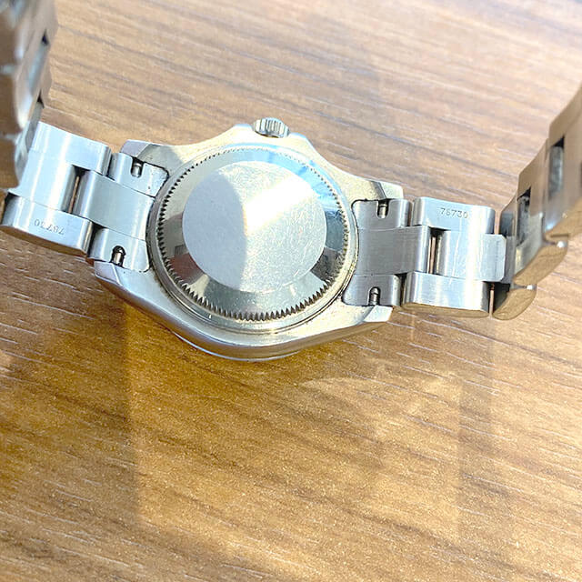 東大阪のお客様からロレックスの腕時計【ヨットマスター】を買取_04