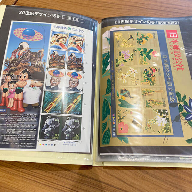 鶴橋のお客様から切手を買取_02