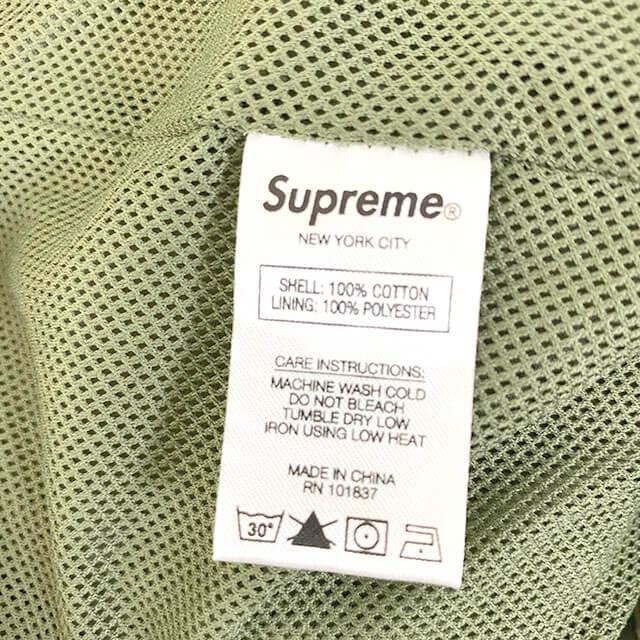 和歌山のお客様からシュプリームの【20SS Raglan Court Jacket(ラグランコートジャケット)】を買取_04