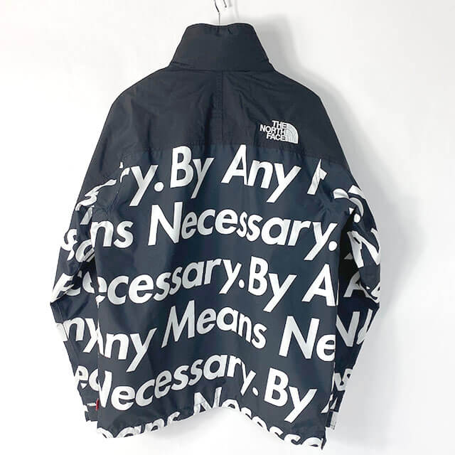 和歌山のお客様からシュプリーム×ノースフェイスの【2015AW By Any Means Necessary Mountain Pullover Jacket】を買取_02