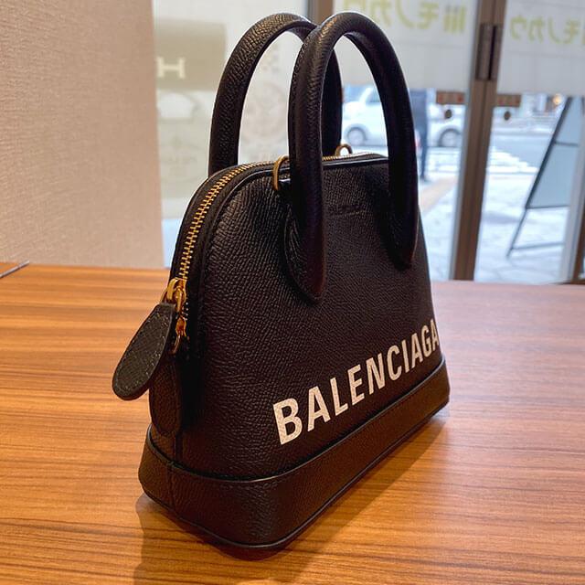 札幌のお客様からバレンシアガのバッグ【ヴィル トップ ハンドル XXS】を買取_02